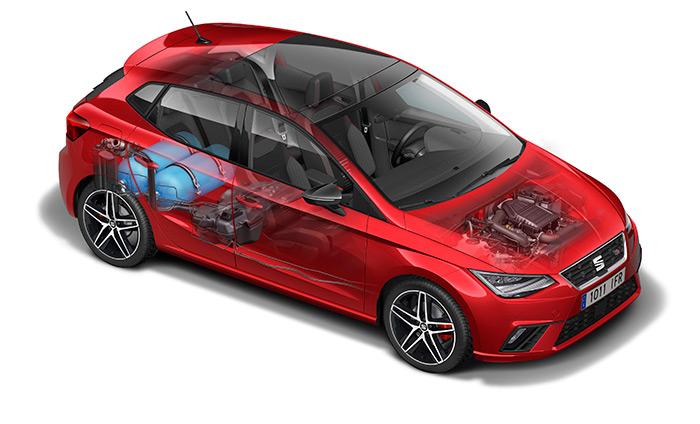 Prueba de consumo (259): Seat Ibiza 1.0-TGI GNC 90 CV Xcellence