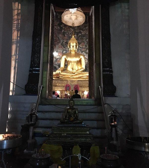 Amanecer en Bangkok a ciegas. Primer día en Tailandia.