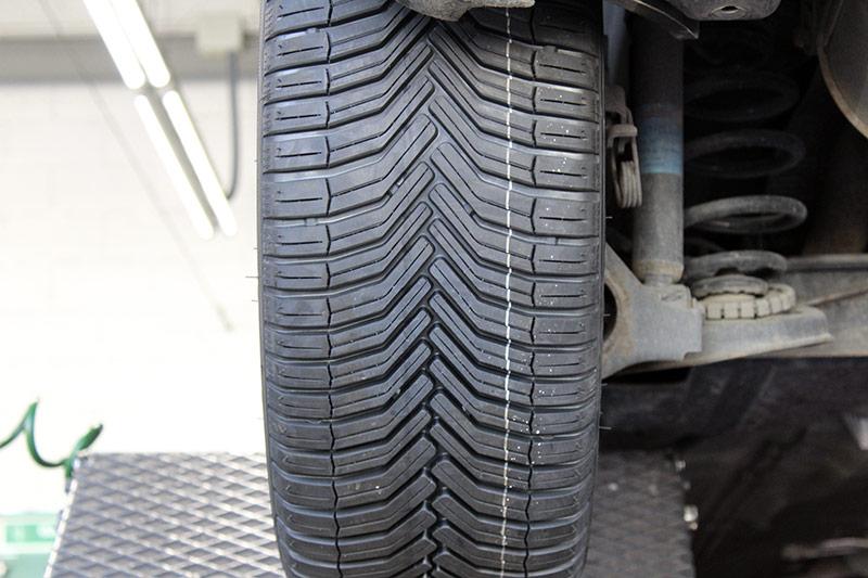Neumáticos Michelin CrossClimate. Prueba de larga duración.