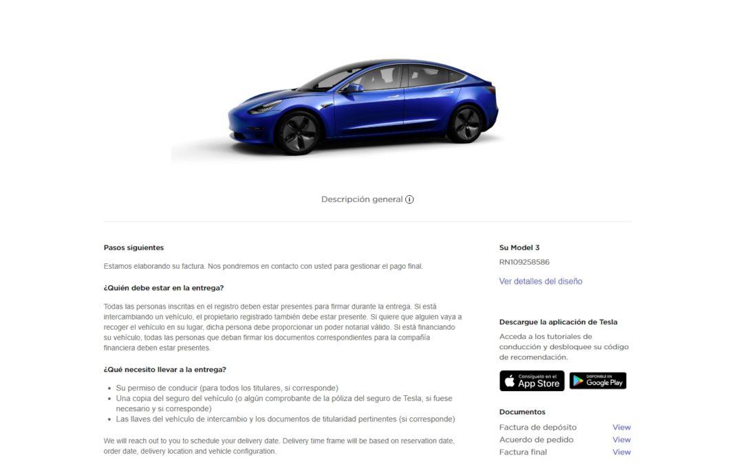 Tesla Model 3. ¿La compra? Desde el sofá.