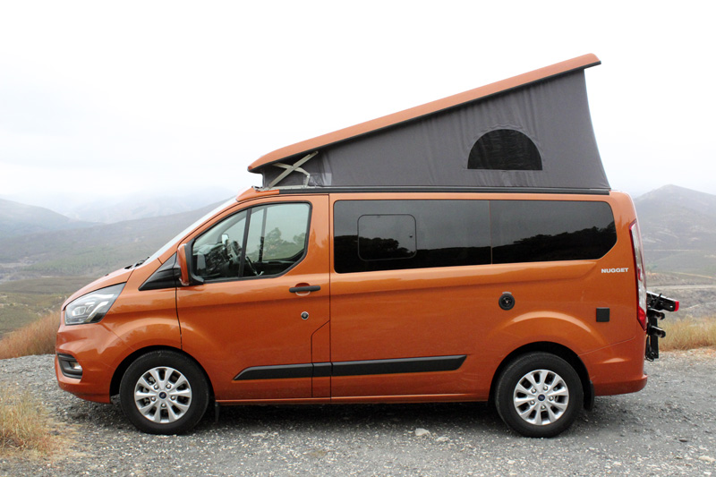 Ford Transit Custom Nugget: me pido la litera de arriba