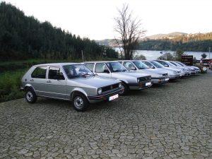 Primeras siete generaciones del Volksagen Golf