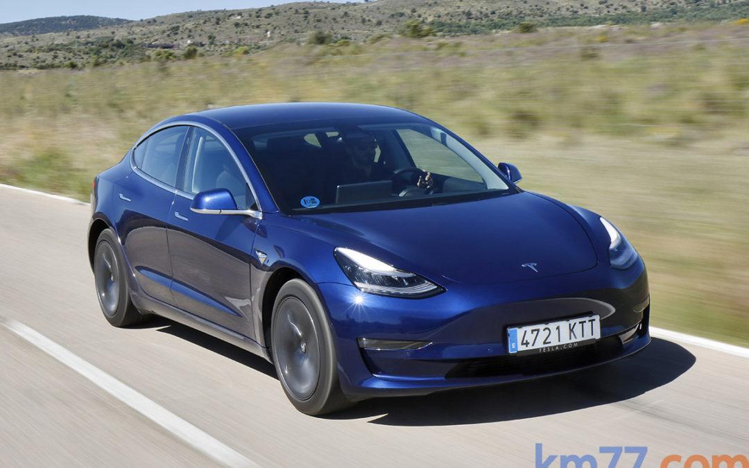 ¿El final de la prueba del Tesla Model 3?