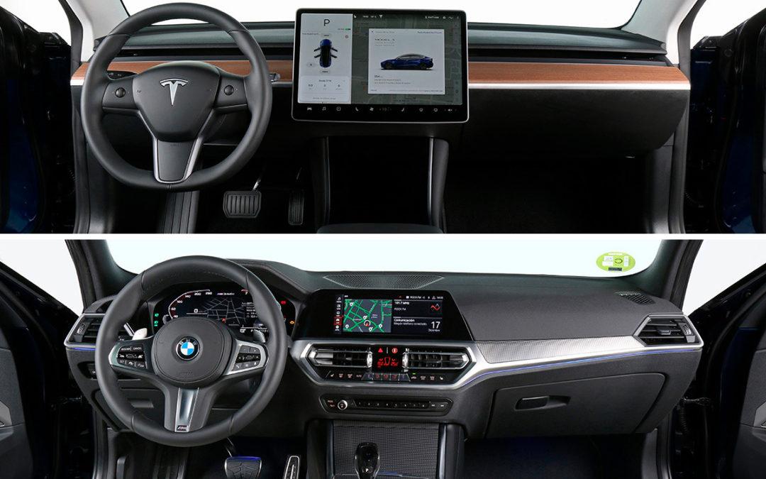 Comparaciones entre el Tesla Model 3 y el BMW M340i xDrive (segunda parte)