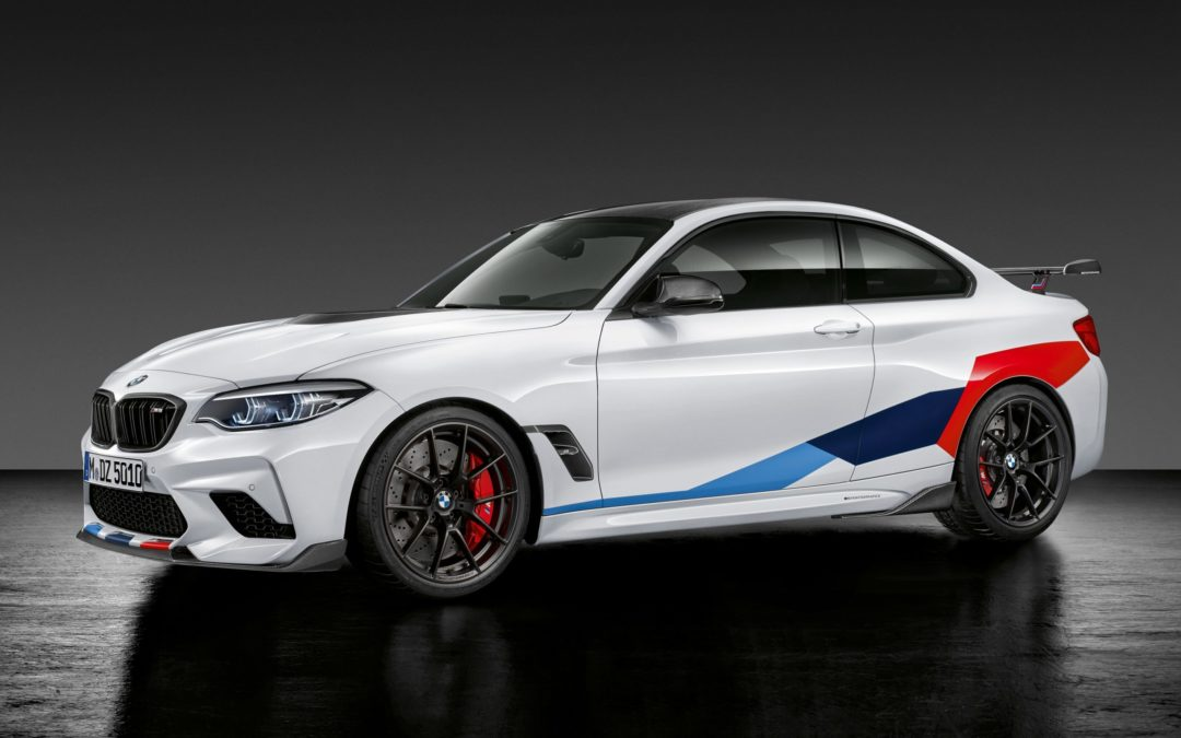 Accesorios M Performance para el BMW M2 Competition