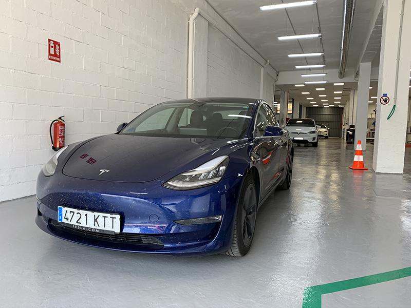 Primera revisión de nuestro Model 3 a los 80.000 kilómetros
