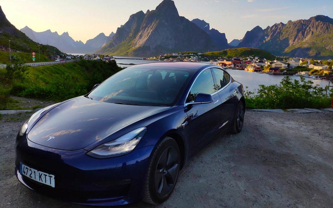 En Tesla hasta más allá del círculo polar ártico. Parte 1: Madrid – Oslo