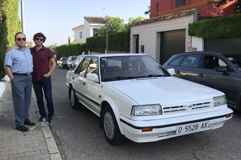La historia de mi Nissan Bluebird Turbo GTI