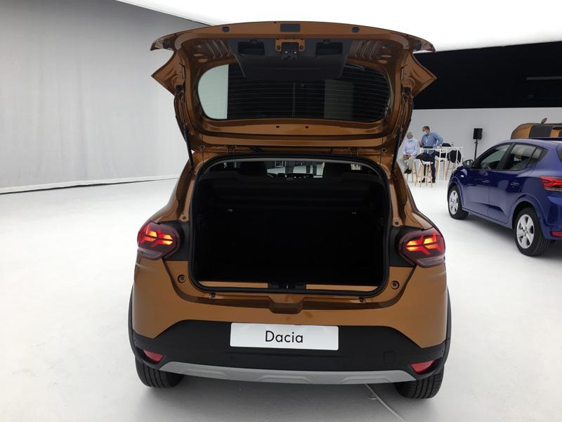 Dacia Sandero. Dimensiones, ruedas y maletero