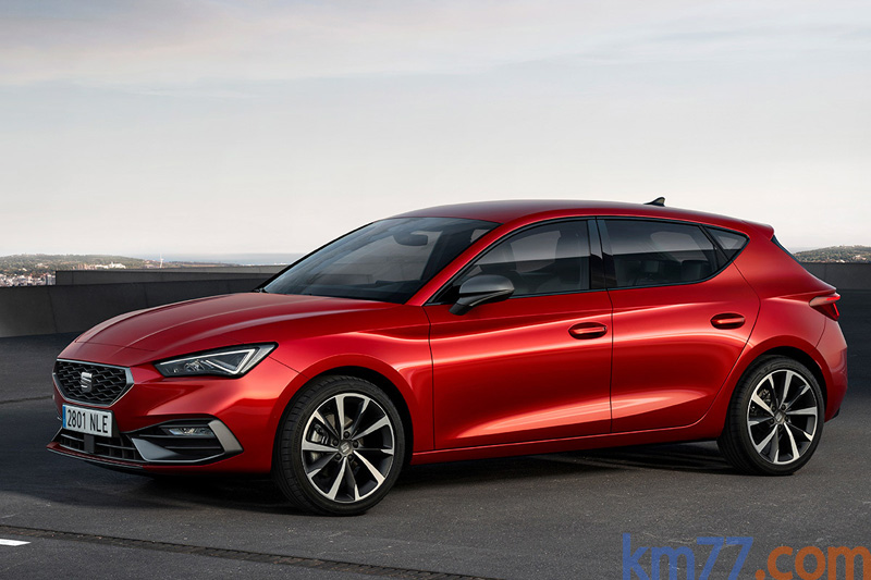 Dinámica comparada. SEAT Leon 1.5 eTSI 110 kW (150 CV) DSG Start/Stop FR contra sí mismo.