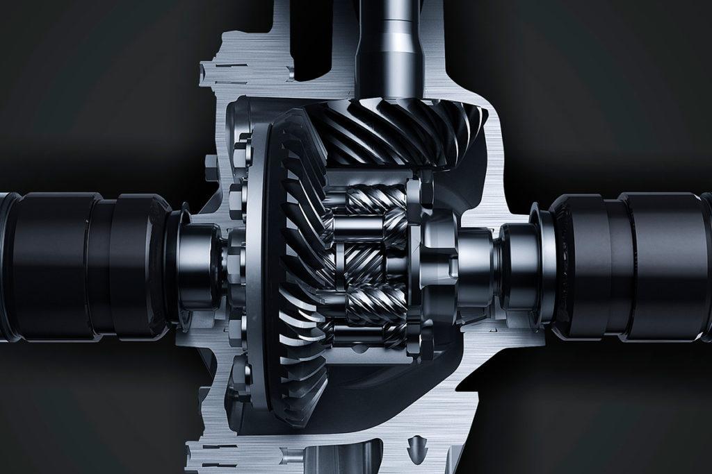 Los diferenciales delantero y trasero son de tipo Torsen con el «Pack Circuit»