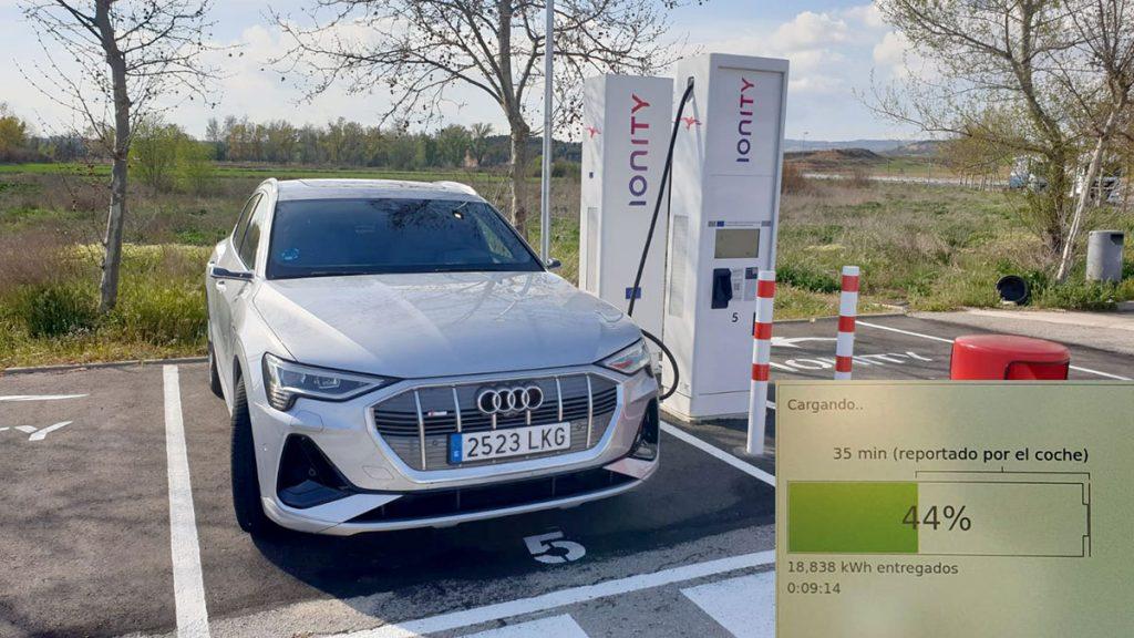 Recarga IONITY Audi e-tron