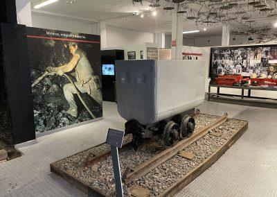 Vagoneta. Centro de experiencias y memoria de la minería.