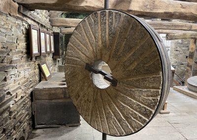 Museo de los Molinos. Mazonovo. Muela. Rayado