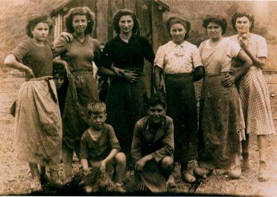 Atropadoras y guajes. 1947