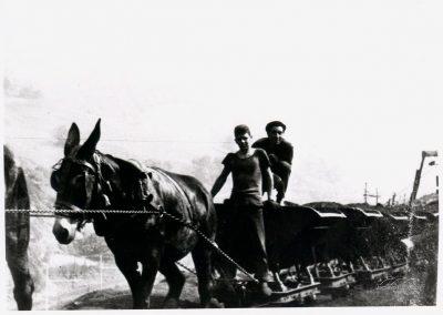 Caballistas. Mina Llori 1964