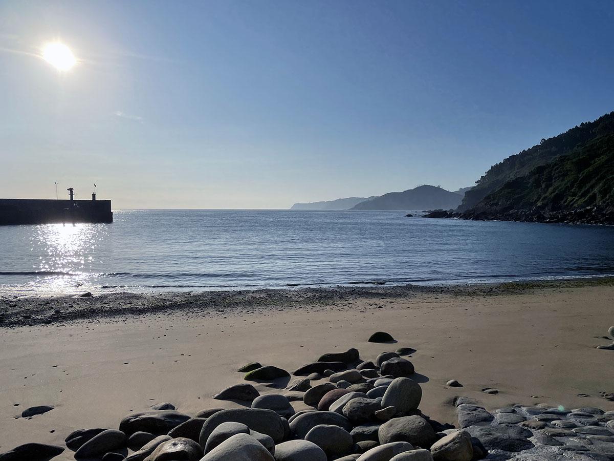 Tazones Asturias. Playa y bahía.