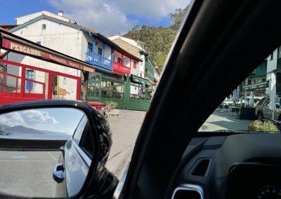 Tazones Asturias, desde el Kia Sorento