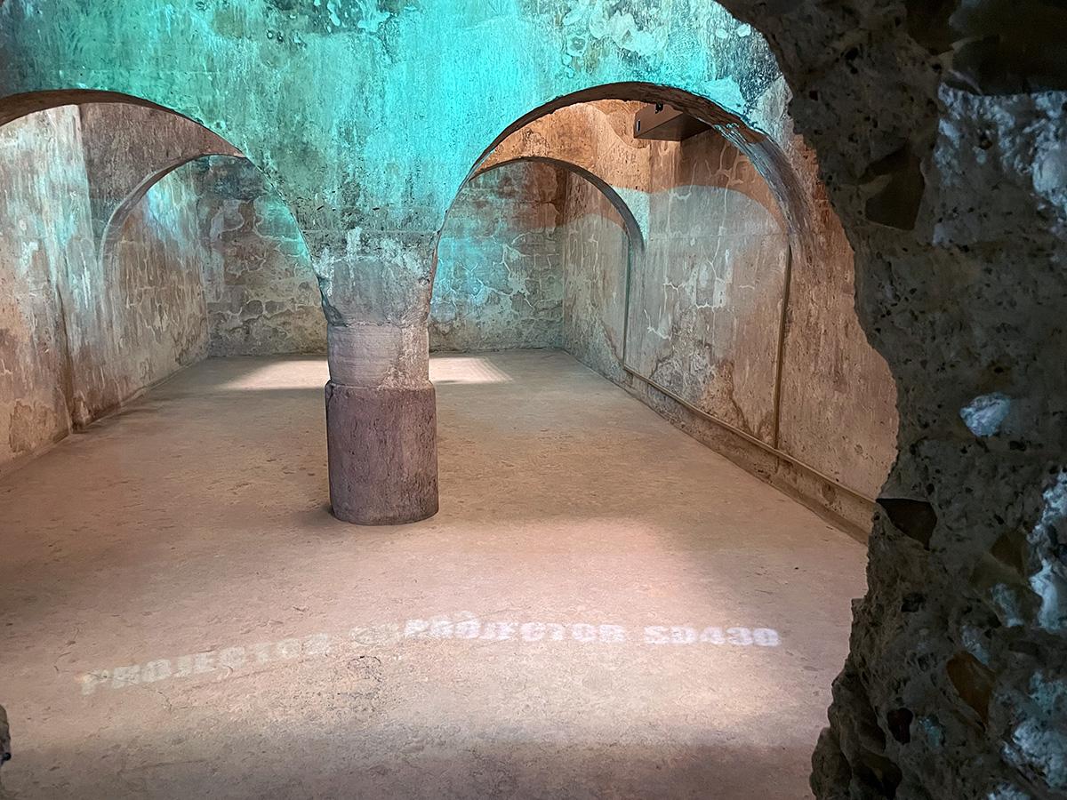 Arjona. Aljibe Almohade del siglo XII