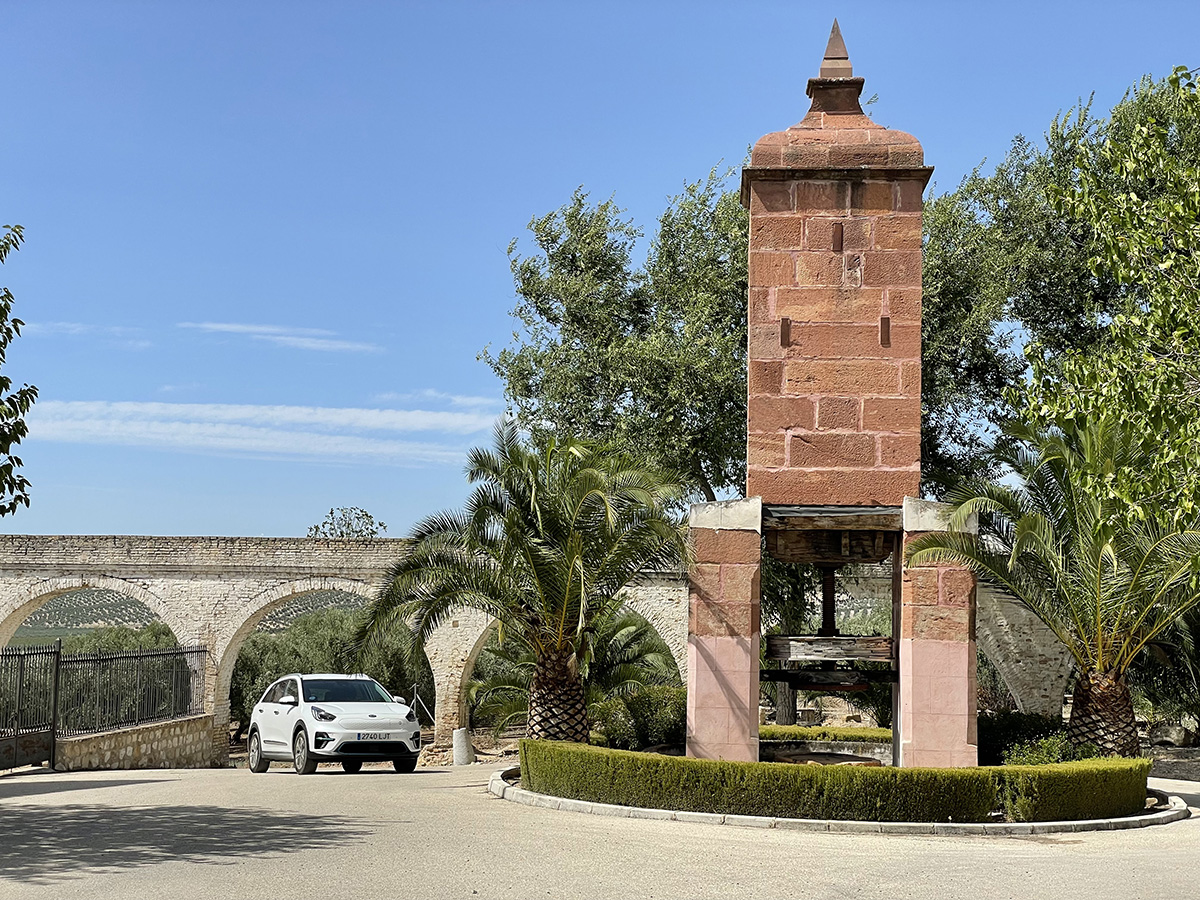 Museo de la cultura del olivo. Prensa de torre.