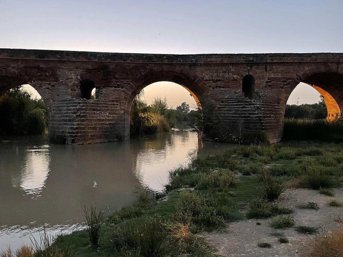 Jaén. Andújar. Puente Romano.