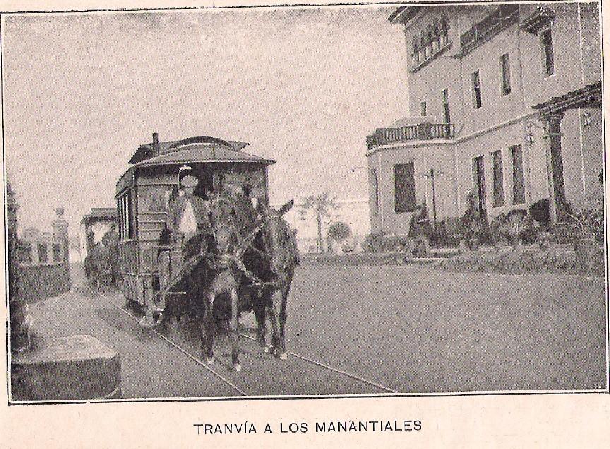 Antiguo tranvía de sangre de Marmolejo.
