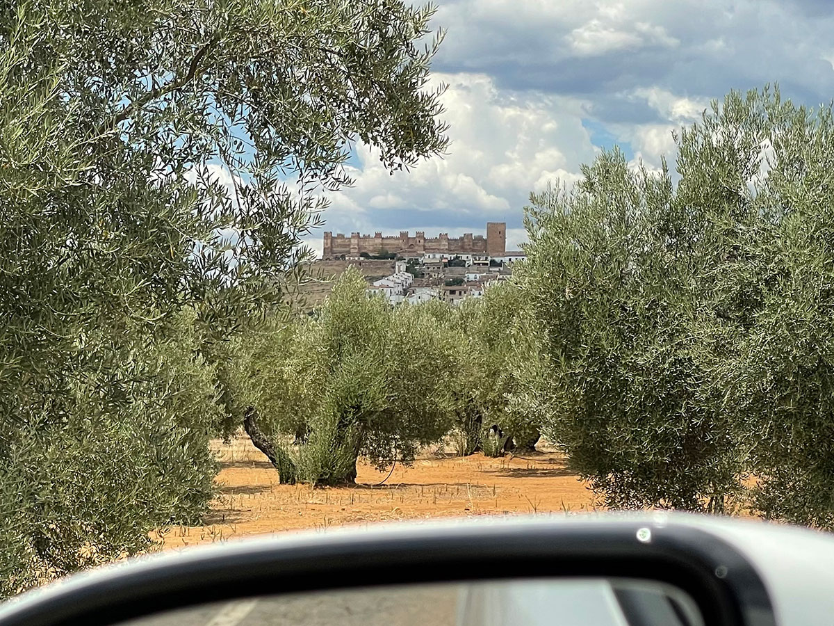 Jaen. Olivares. Castillo de Burgalimar. Baños de la Encina