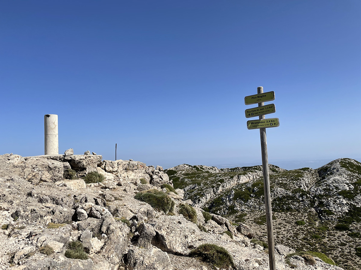 Jaén. Cumbre del Pico Mágina.
