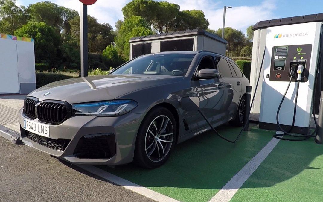 BMW 530e xDrive Touring | ¿Cuál es su autonomía eléctrica? (vídeo)