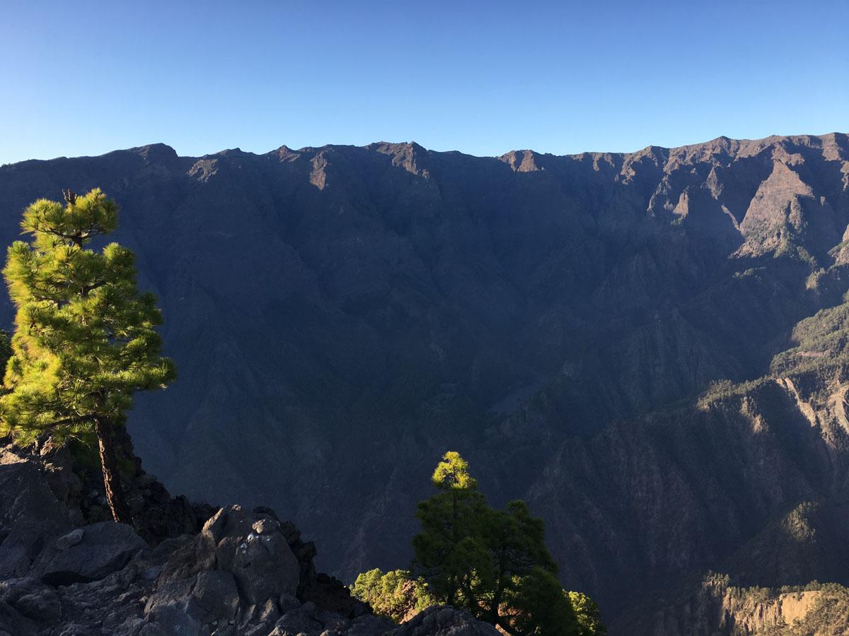 Caldera de Taburiente desde el Pico Bejenado