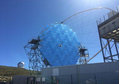 Observatorio Astrofísico. Roque de los Muchachos