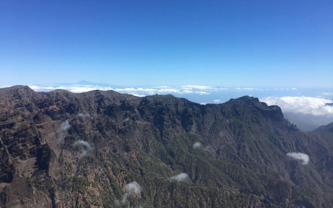 Nuestra Tierra: La Caldera desde el Roque de los Muchachos