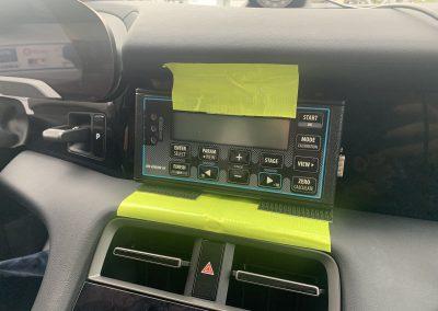 Instalación provisional y efectiva de Blunik en Porsche Taycan Turbo.