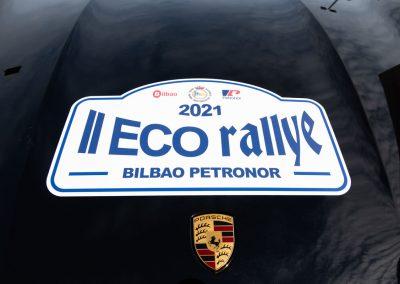 II Eco rallye Bilbao - Petronor. Porsche Taycan Turbo S.