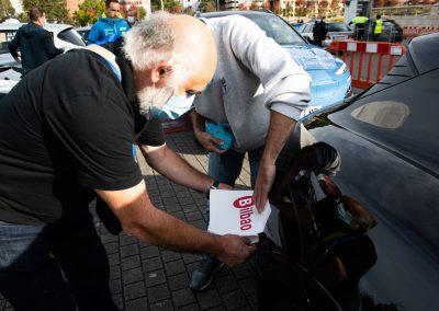 II Eco rallye Bilbao - Petronor. Decorando los coches.