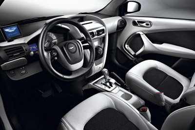 Aston Martin Cygnet. Modelo 2011.