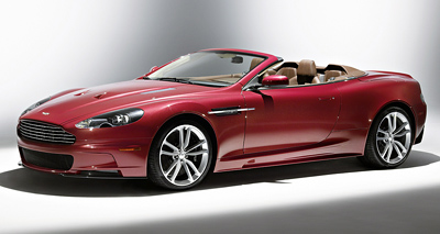 Aston Martin DBS Volante. Modelo 2009.