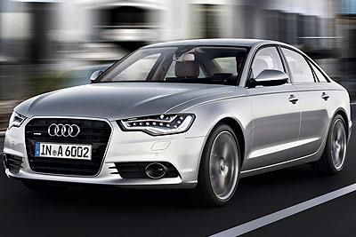 Audi A6. Modelo 2011.