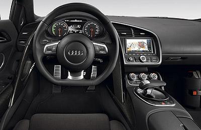 Audi R8 e-tron. Modelo 2012