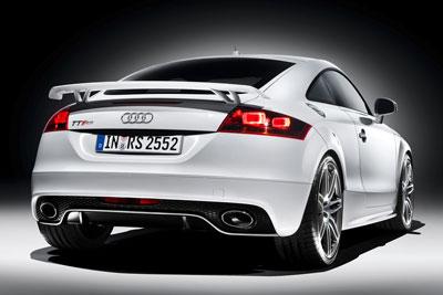 Audi TT RS. Modelo 2009.