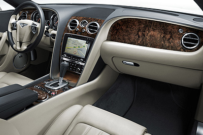 Bentley Continental GT. Modelo 2011.