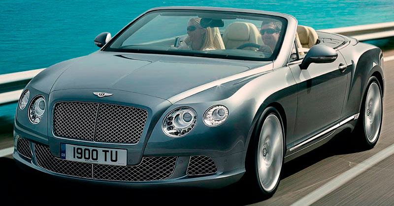 Bentley Continental GTC W12 575 CV