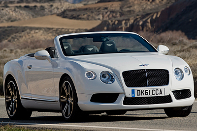Bentley Continental GTC V8 507 CV.
