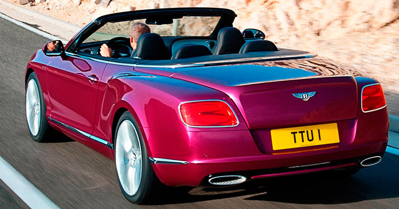 Bentley Continental GTC Speed W12 625 CV