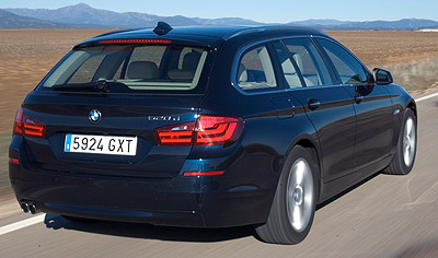 BMW Serie 5 Touring. Modelo 2011.
