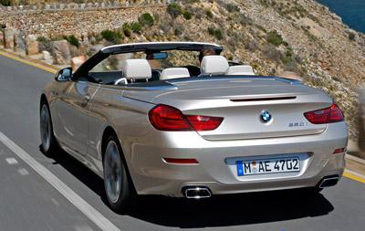 BMW Serie 6 Cabrio. Modelo 2011.
