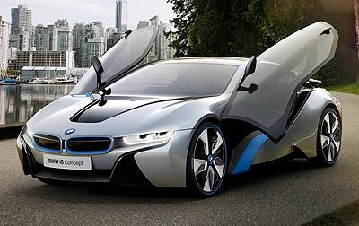 BMW i8 Concept. Prototipo 2011