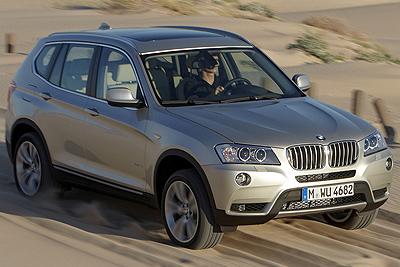 BMW X3. Modelo 2011