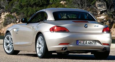 BMW Z4. Modelo 2009.
