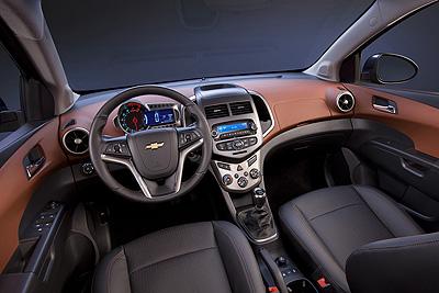 Chevrolet Aveo. Modelo 2011